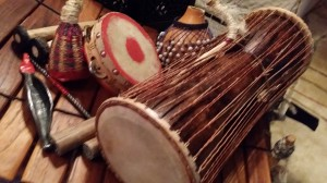 Gullah Ghana Geechee Gumbo musical instruments_They passed the hambone.jpg 2 close up